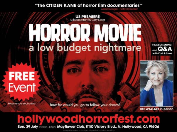 DEE WALLACE joins HOLLYWOOD HORRORFEST'S Exceptional FREE Sunday Line-up 3
