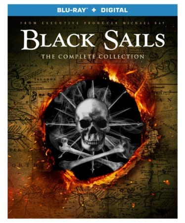 Black Sails: The Complete Collection arrives on Blu-ray™ (plus Digital) and DVD 10/16 4