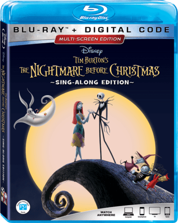 """The Nightmare Before Christmas"" 25th Anniversary Edition Arrives on Digital & Blu-ray September 2 3"
