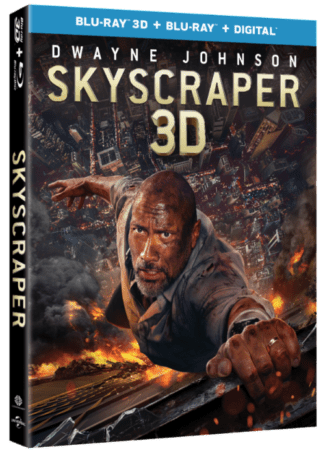 Dwayne 'The Rock' Johnson Stars in SKYSCRAPER Available on Digital 9/25 and 4K Ultra HD, 3D Blu-ray, Blu-ray & DVD 10/9 1
