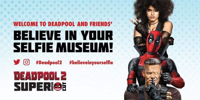 "Deadpool ""Believe in Your Selfie Museum"" Comes to NYC 5"