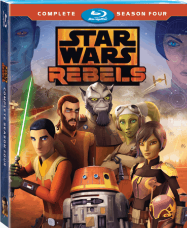 STAR WARS REBELS: THE COMPLETE SEASON FOUR 9