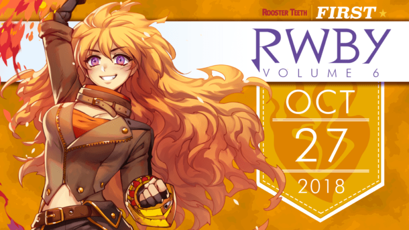 RTX AUSTIN 2018 NEWS ROUNDUP: RWBY VOLUME 6 PREMIERE, RWBY YA SERIES and gen:LOCK voice cast 5