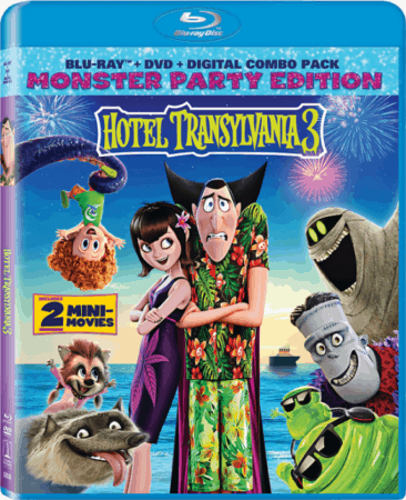 """SPHE's """"Hotel Transylvania 3"""" Arrives on Digital HD Sept. 25 and on Blu-ray Combo Pack and DVD Oct. 9 1"""