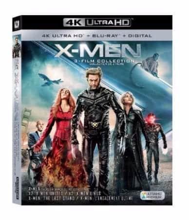 New 4K Ultra HD™ Releases of X-Men Trilogy Arrive September 25 1