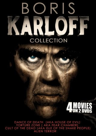 BORIS KARLOFF COLLECTION 5