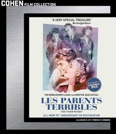 LES PARENTS TERRIBLES Comes to DVD and Blu-ray on October 30th 1