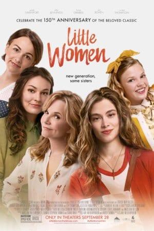 little women 2018 movie poster