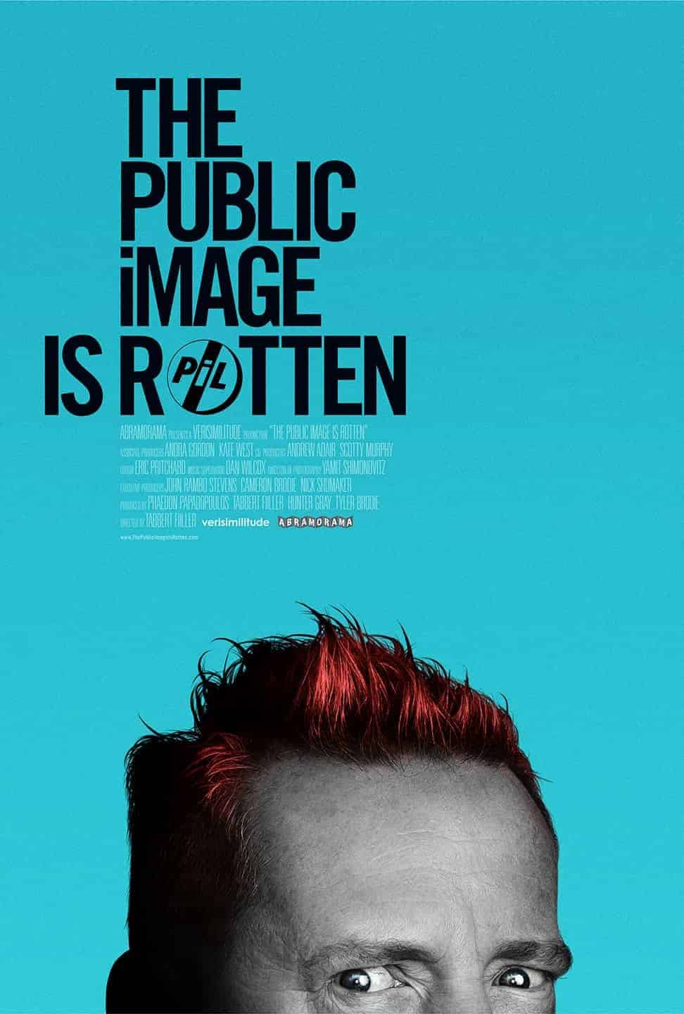 public image is rotten better movie poster