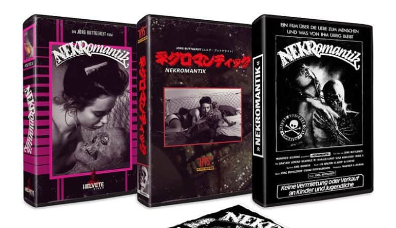 Cult Epics presents NEKROMANTIK on VHS 8