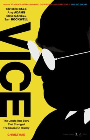Christian Bale and The Big Short team brings us Vice for Christmas. 4