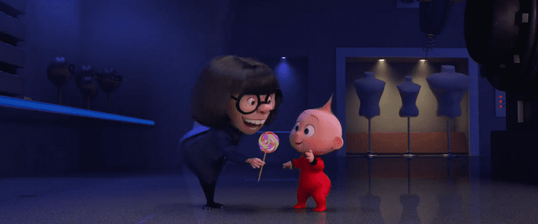 """""""Auntie Edna"""" from The Incredibles 2 1"""