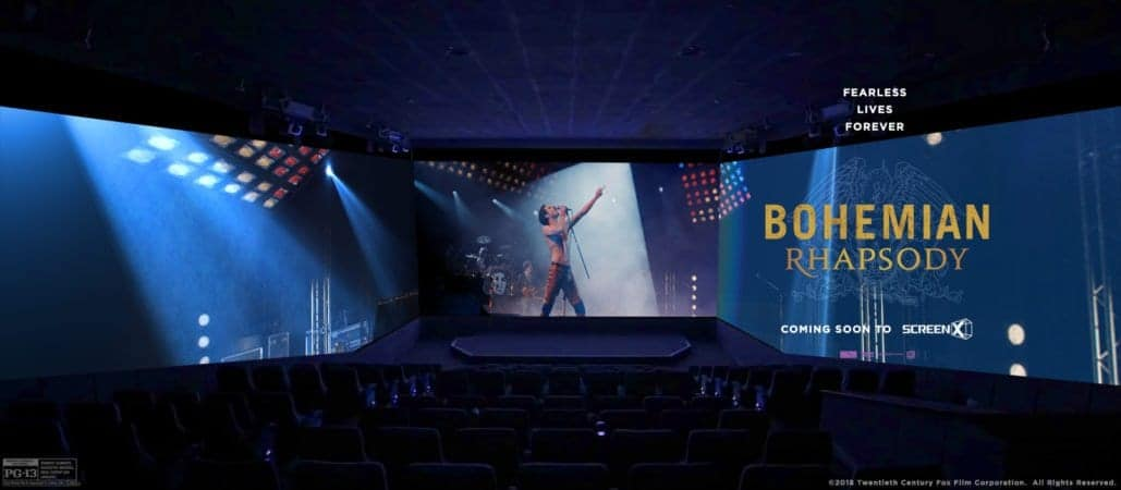 20th Century Fox's and Regency Enterprises' Epic Rock and Roll Bio-Pic Bohemian Rhapsody to be Released on ScreenX 3