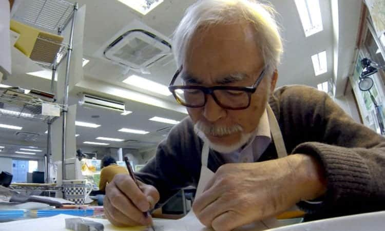 Never-Ending Man: Hayao Miyazaki | In U.S. Theaters December 2018 via GKIDS & Fathom Events 5