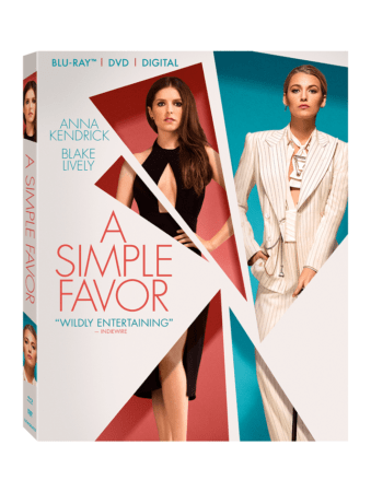 A Simple Favor arrives on Digital December 11 and on 4K Ultra HD, Blu-ray™, DVD, and On Demand 12/18 4