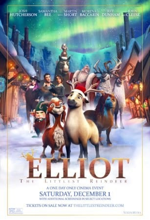 ELLIOT: THE LITTLEST REINDEER! gets a new trailer and poster 1