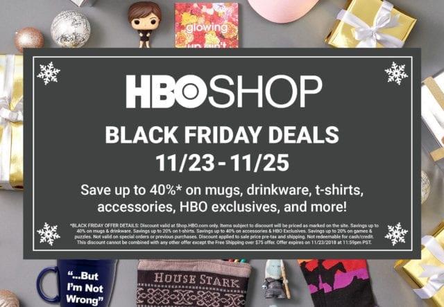 HBO Black Friday