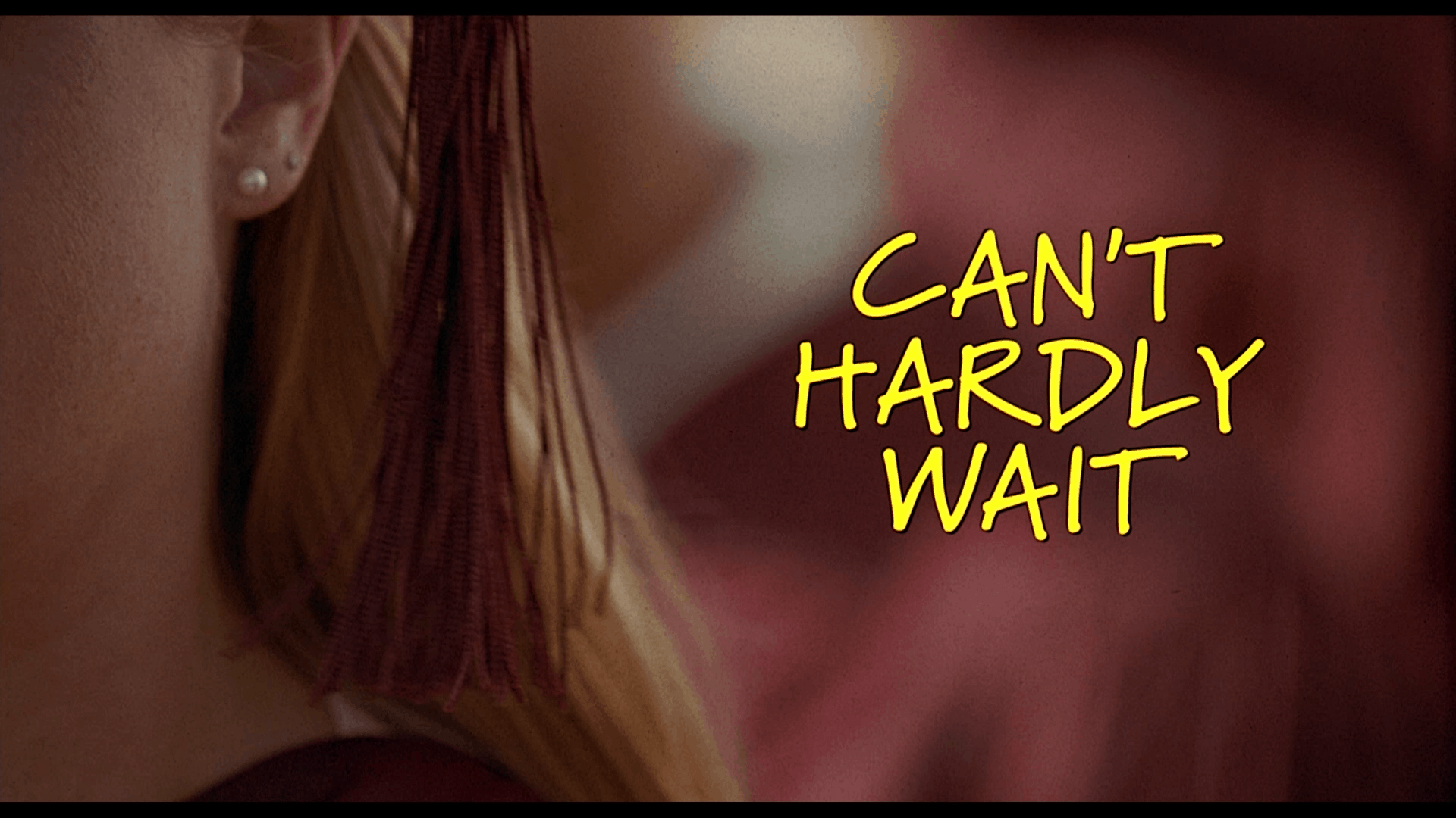can't hardly wait title
