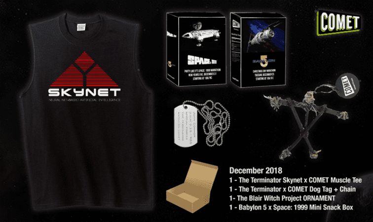 The Comet TV and CHARGE! December Prize Pack contest is here! 16