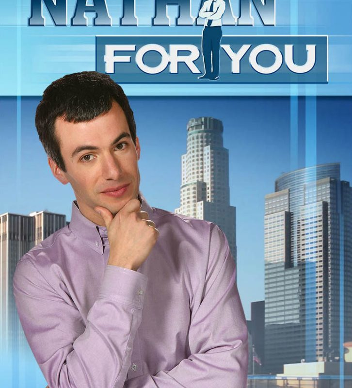Enter to win a DVD copy of Nathan For You: The Complete Series