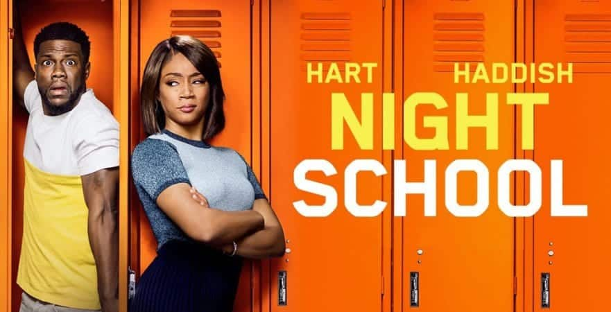 Enter to win a Blu-ray copy of Night School