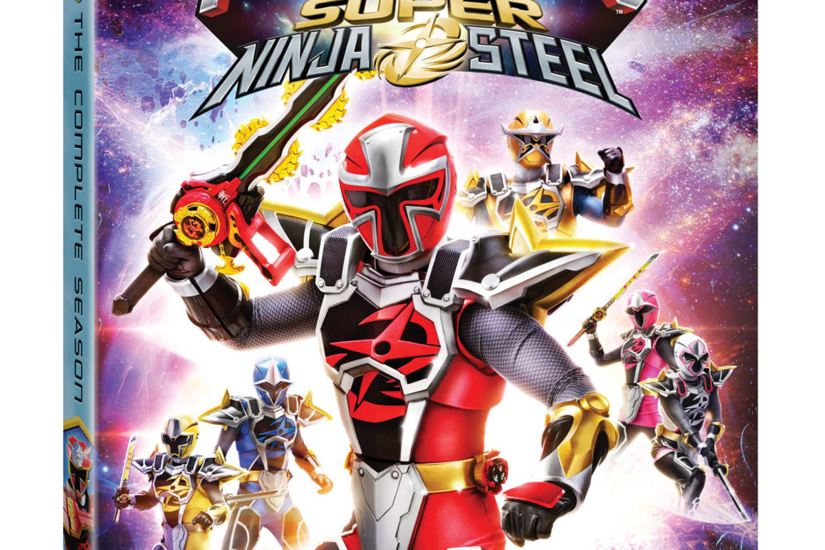 Power Rangers Super Ninja Steel: The Complete Season arrives on DVD, Digital and On Demand 2/5