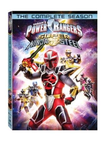Power Rangers Super Ninja Steel: The Complete Season arrives on DVD, Digital and On Demand 2/5 1