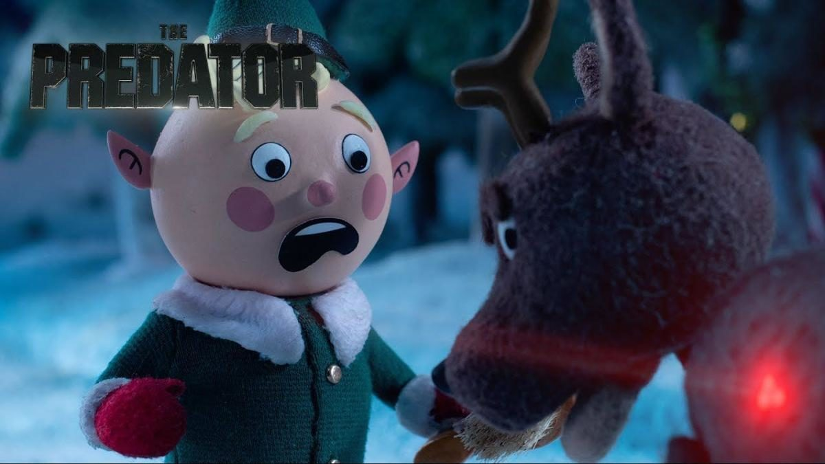 THE PREDATOR Stop-Motion Holiday Special Trailer airs tomorrow night!