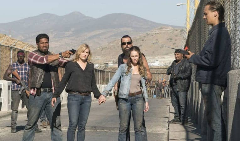 FEAR THE WALKING DEAD SSN 4 on Blu-ray and DVD 3/5 5