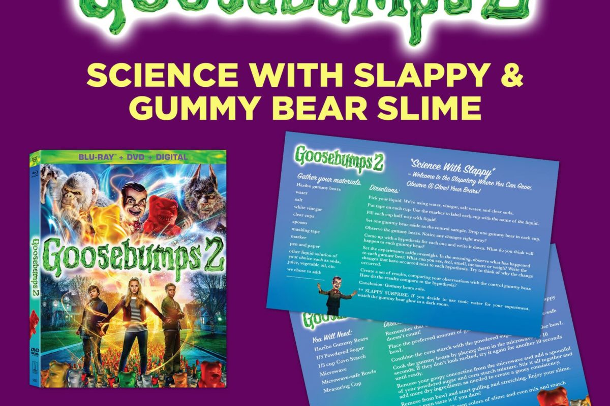 Goosebumps 2 is coming! Here is literally everything SONY saw fit to have posted.