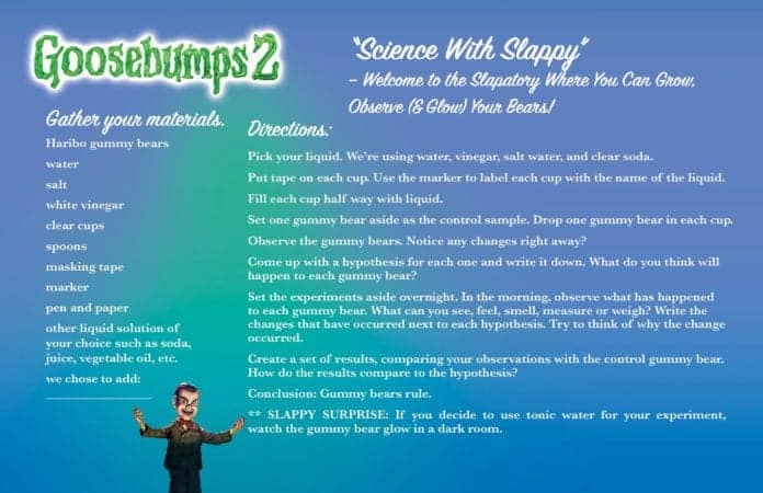 Goosebumps 2 is coming! Here is literally everything SONY saw fit to have posted. 4