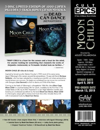 Oscar data trailers Moon Child trailer Oscars