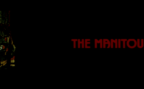 the manitou shout factory blu-ray title
