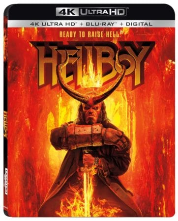 Hellboy arrives on Digital July 9 and on 4K Ultra HD Combo Pack, Blu-ray Combo Pack, DVD, and On Demand July 23 1