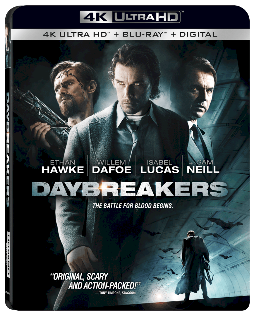 Daybreakers 4K arrives on 4K Ultra HD™ Combo Pack (plus Blu-ray™ and Digital) and Digital 9/10 18
