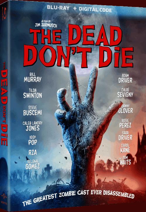 Dead Don't Die blu-ray