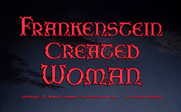 frankenstein created woman title