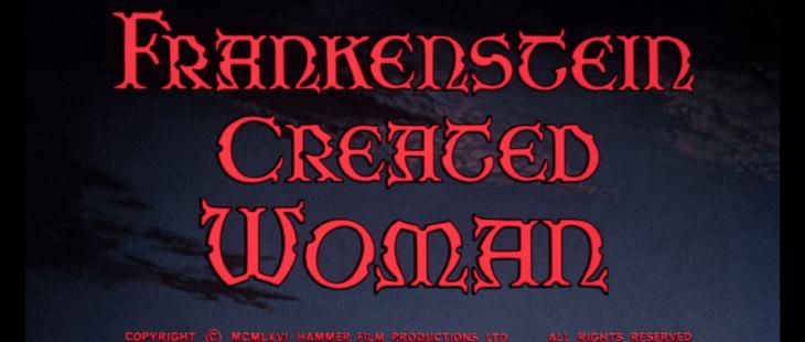 frankenstein created woman title