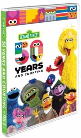 Sesame Street 50 DVD Blu-ray