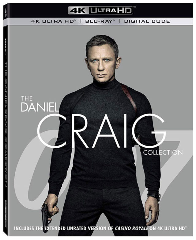 Daniel Craig Like You've Never Seen Him Before – New 4K UHD Collection Available 10/22 4