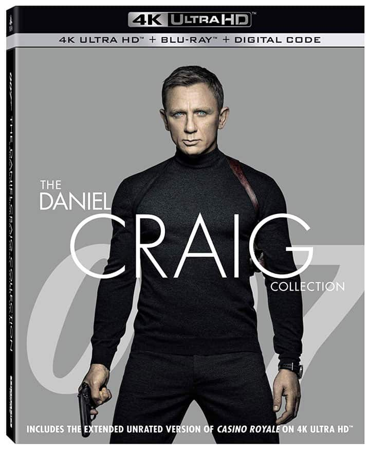 Daniel Craig Like You've Never Seen Him Before – New 4K UHD Collection Available 10/22 9