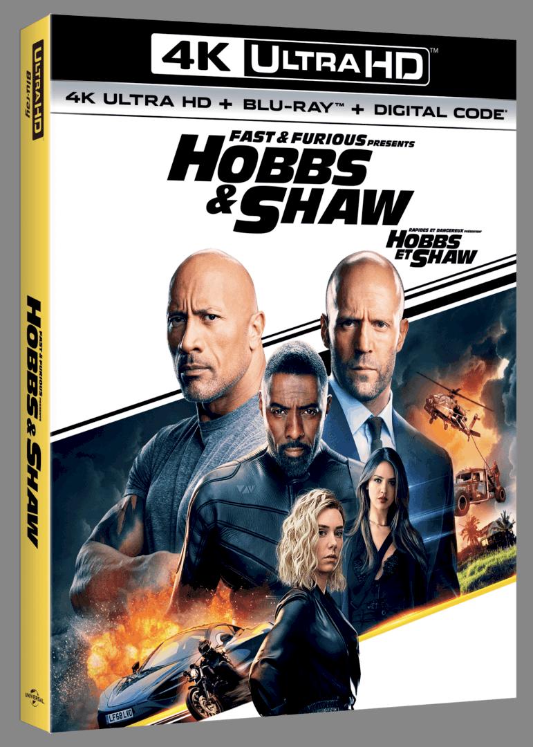Hobbs and Shaw 4K