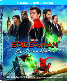 Spider-Man: Far From Home arrives on Digital 9/17 and on 4K Ultra HD Blu-ray™ & DVD 10/1 3