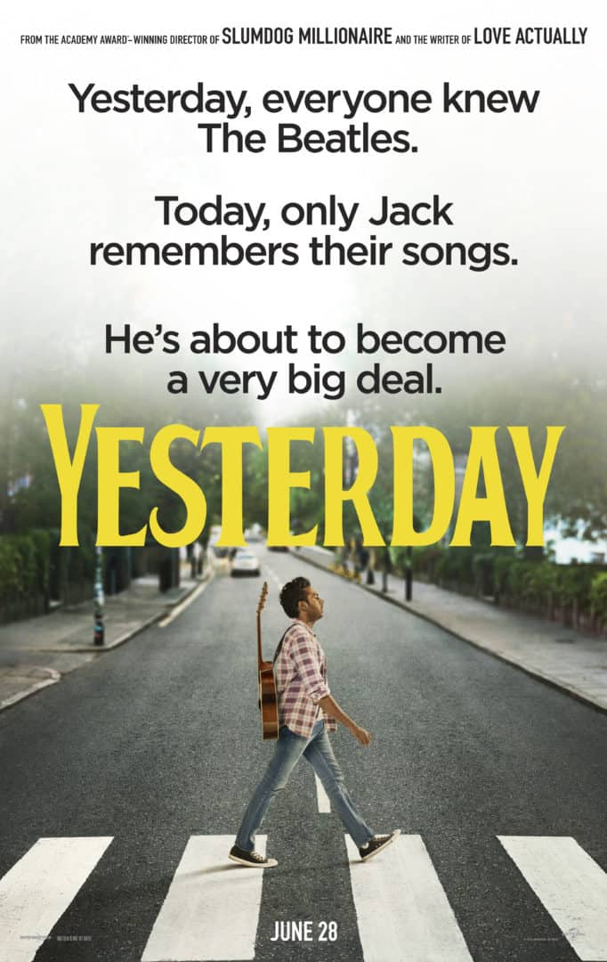 Yesterday 2019 poster