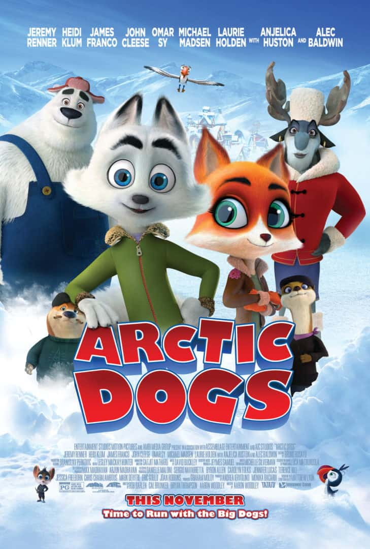 arctic dogs trailer poster