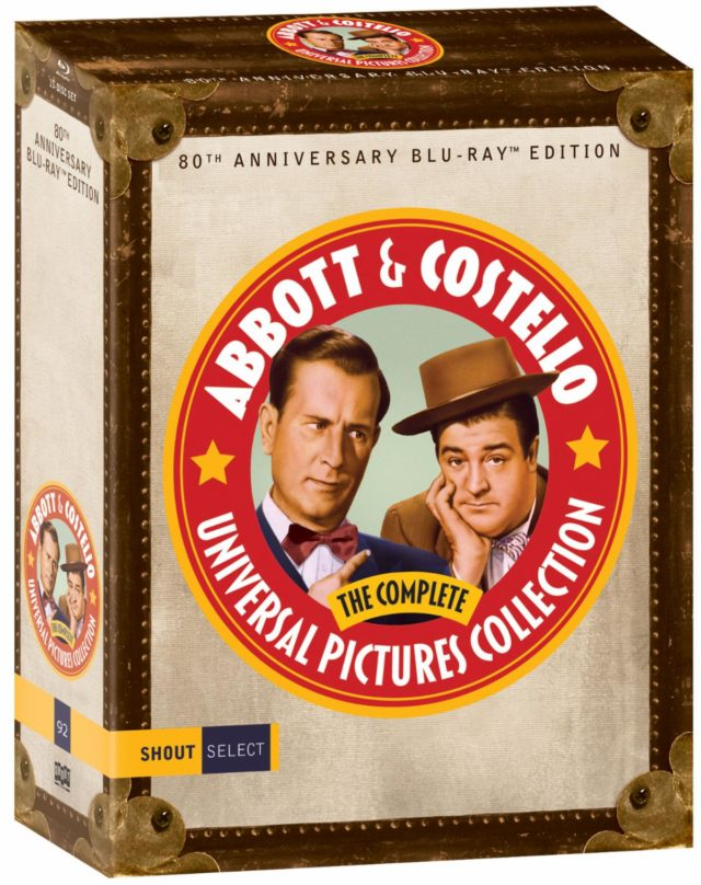 Killer 'Abbott & Costello: The Complete Universal Pictures Collection' on Blu-ray November 19 from Shout! Factory 3