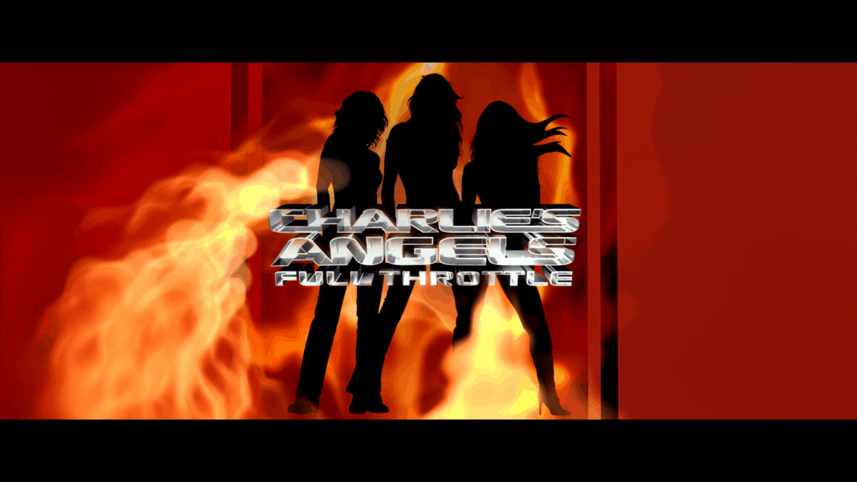 Charlie's Angels Full Throttle title