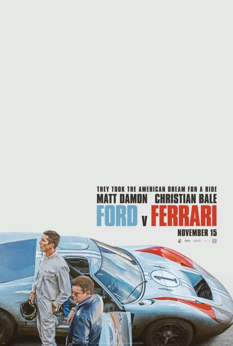Ford v Ferrari 4DX poster