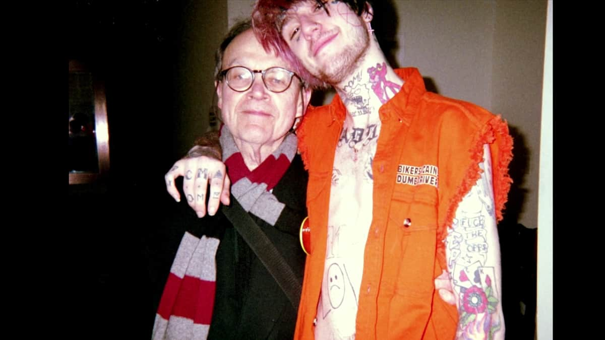 Lil Peep and grandfather everybody's everything