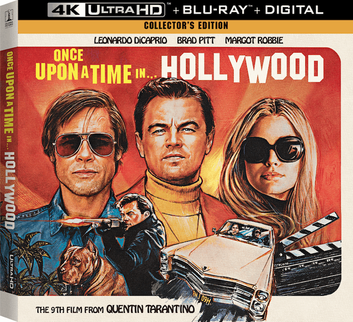 Once upon a time in hollywood 4K